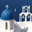 Theoskepasti kerkje op Santorini