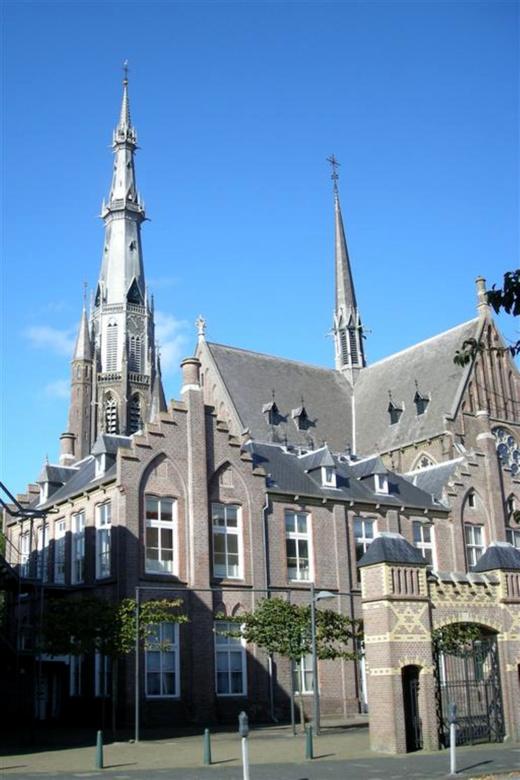Nederland Leeuwarden Sint_Bonifatiuskerk