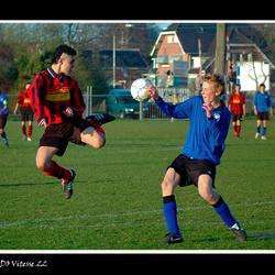 Karate of voetbal...
