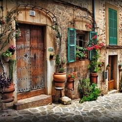 straatje in Frankrijk