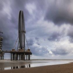Long exposure pier Scheveningen.