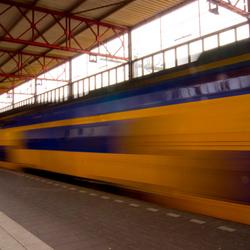 vertrekkende trein