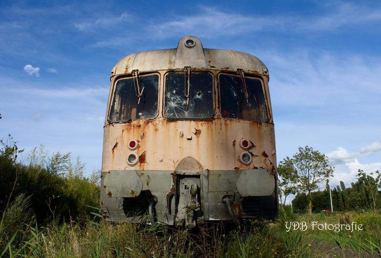 Oude trein -