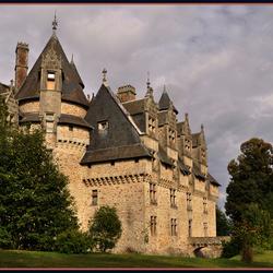 enorm renaissance kasteel
