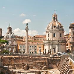 Fora Traiano, Rome, Italië
