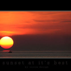 Sunset at it's best...