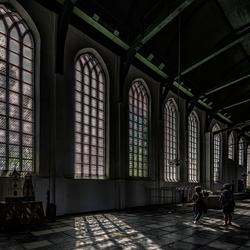gewone kerk in Enkhuizen