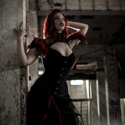 Dark Red beauty