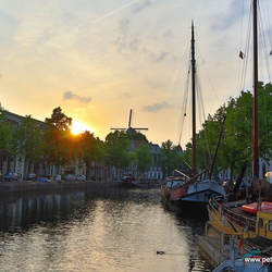 Schiedam sunset