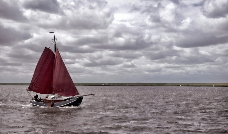 Lauwersmeer. -