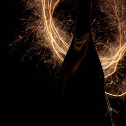 Fles + Vuurwerk