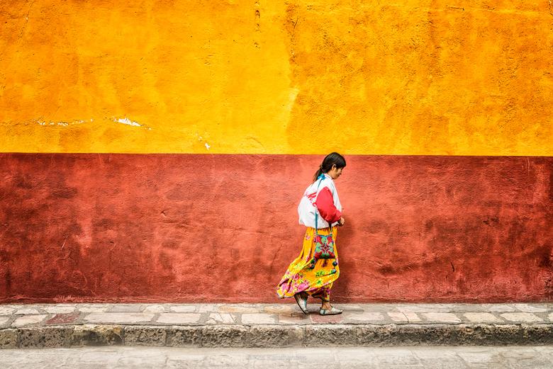 Mexican Woman - Mexicaanse vrouw in San Miguel de Allende