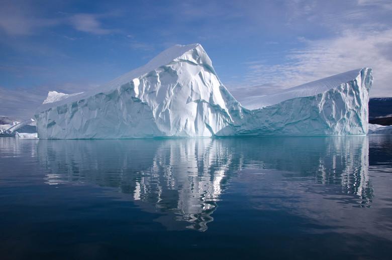 arctische zomer - Scoresby Sound a/d oostkust van Groenland.