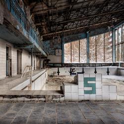 Pripyat, swimming pool