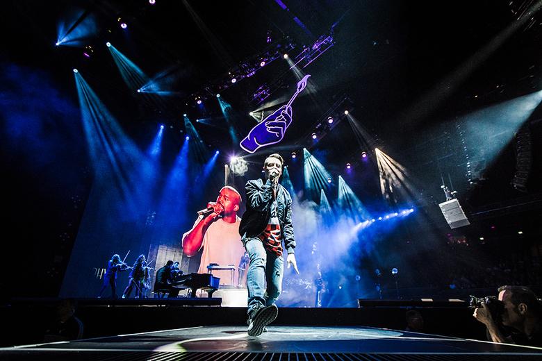 M A C K L E M O R E - Macklemore & Ryan Lewis live in de Ziggo Dome, Amsterdam.