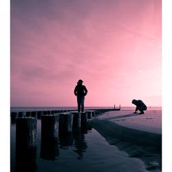 schemer aan zee