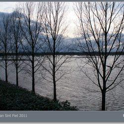 Hoogwater Maas 2011