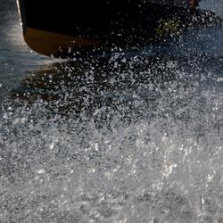Watertaxi op de Maas