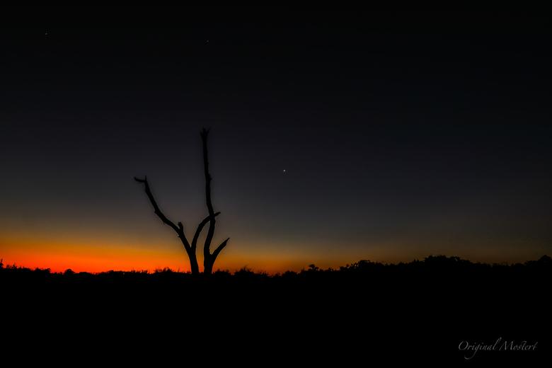Sunset Namib Woestijn, Namibie