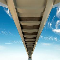Spoorbrug Zuidhorn: 'Stretched Boeing' :-)