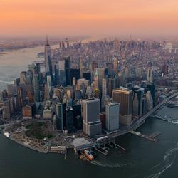 New York van boven
