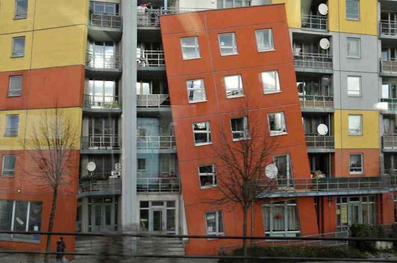 recht....? - Gespot in Rummelsburg Berlijn.