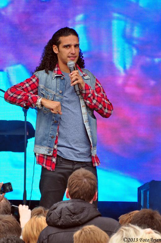 Ali B - Optreden van Ali B tijdens de Pinksterfeesten in Delfzijl.