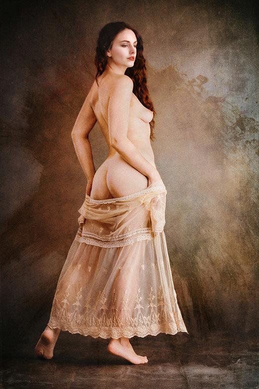 Romantic Nude - model is Cariad Celis