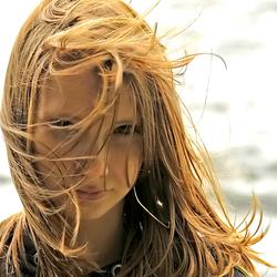 Debby in de wind