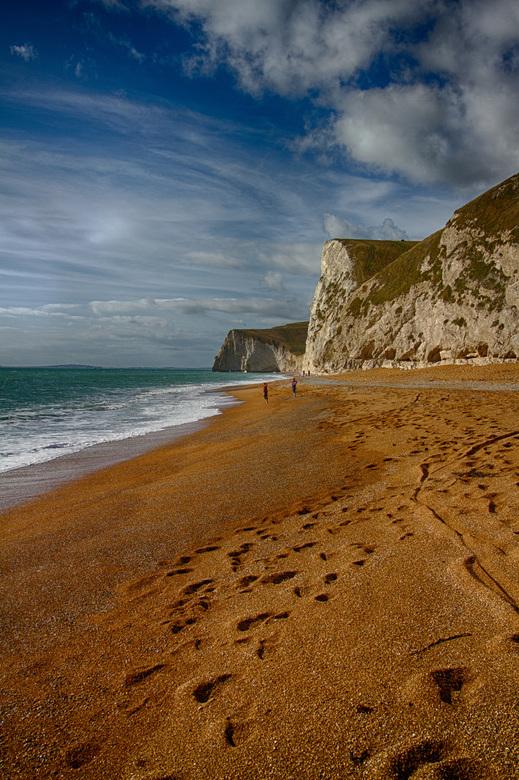 Swyre Head, bij West Lulworth, Dorset, Verenigd Koninkrijk