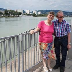 Arie & Gerda overkant schip Linz O