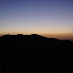 voordat de zon opkomt