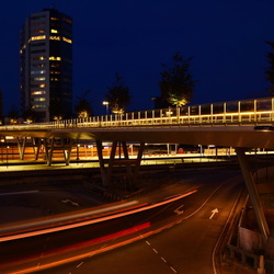 Moreelsebrug by night