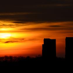 Zonsondergang op Tweede Kerstdag
