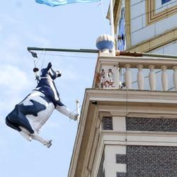 Bewerking: De koe in de toren