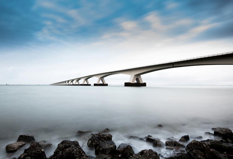 Zeelandbrug - Zeelandbrug bij Colijnsplaat