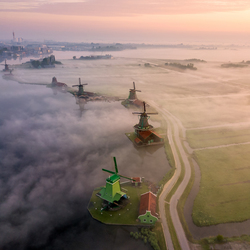 Zaans from above