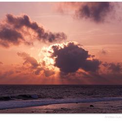 Zonsondergang Srilanka
