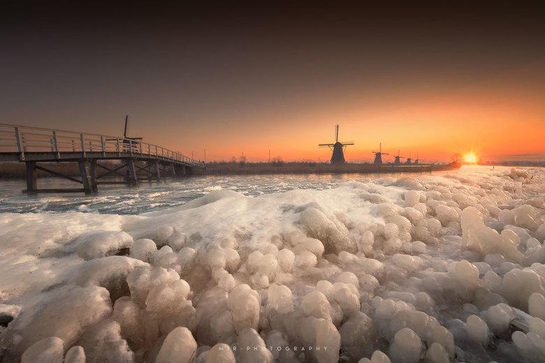 Frozen Kinderdijk -