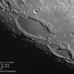 Maan kraters