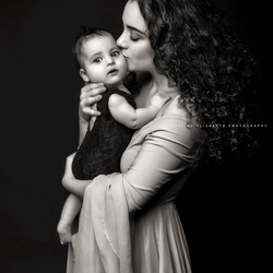 The most precious jewels you will have around your neck are the arms of your children