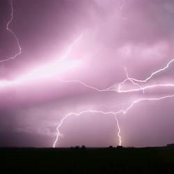 Onweer bij Kampen