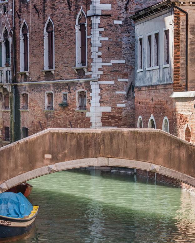 Brug - Bruggetje in Venetië.
