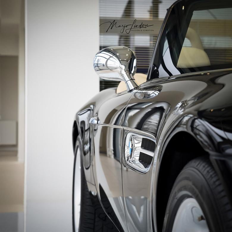 BMW Z8 - Uitsnede van een BMW Z8