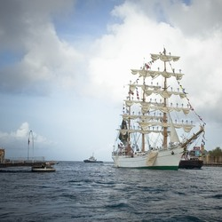 Sail Curacao...first day,8 ships