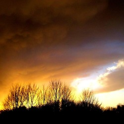 Daar komt een storm...