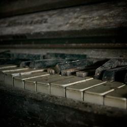 De oude piano