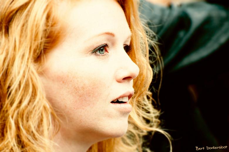 red hair day 1 - èèn van de vele modellen op roodharigendag te breda