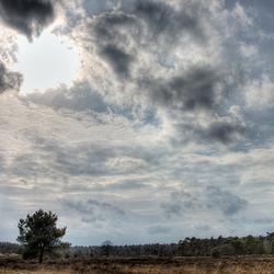 Bewerking: Drunense Duinen - wolkenpartij