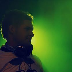 DJ Silhouette foto